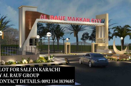 Plot for Sale in Karachi – A Few Minutes Drive from Bahria Town