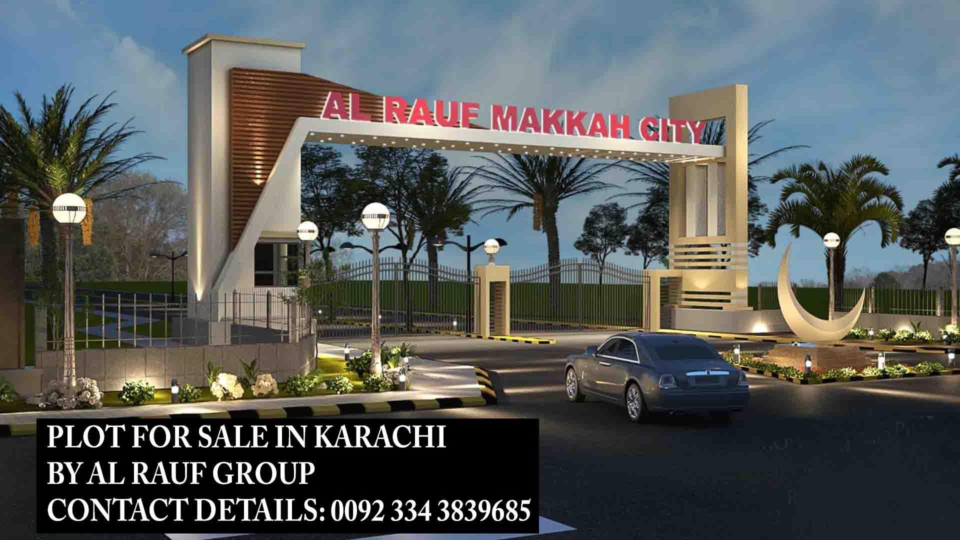 plot for sale in karachi